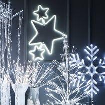 Heldere kerstdecoraties