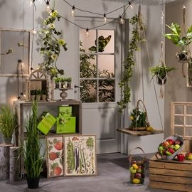 Decoratie lente vegetaal
