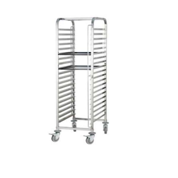Transportwagen, ladder, rek