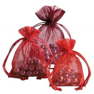 Organza zakjes en geschenkdozen