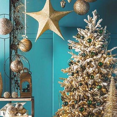 Kits versierde Kerstbomen