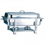 Chafing dish gastronorm 1/1 9 liter in roestvrij staal 63x35,5x27,3cm