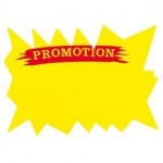 Flash jaune - PROMOTION - 20x15cm - per 25