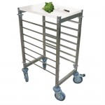 Ladder laag 7 niveaus 55,5x38,5x95cm staal