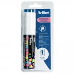 Permanente stift Tempera - wit - 20 mm - per stuk