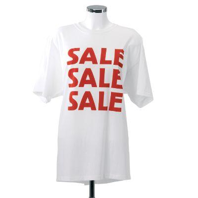 Sale t-shirt X-large wit-Kortings en prijsstickers