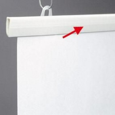 Witte hanger-Ophanging