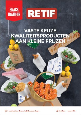 RETIF Catalogus snack en traiteur 2018